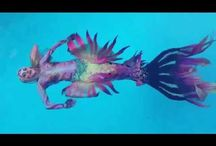 underwater photography , bodyart by Lana Chromium