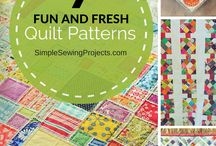 Quilt Patterns / Discover exciting quilt patterns for all level sewers. Be inspired!