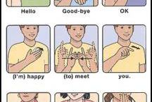 Sign Language / I will be learning sign language