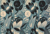Floral Patterns and Prints / A blooming brilliant collection of fancy floral designs!