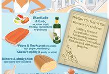 Μεσογειακή Διατροφή / Η Μεσογειακή Διατροφή ουσιαστικά περιγράφει κυρίως τη δίαιτα των κρητικών, αλλά των άλλων χωρών της Μεσογείου.