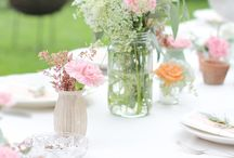 table settings / by Maureen Whitfield