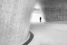 Architecture / steel, glass, concrete