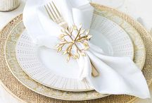 Elegant tablesettings