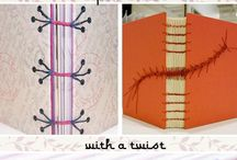 Art Lesson Ideas: Book Binding / by Michelle McGrath
