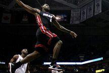Lebron James - Miami Heat / by Chris Schell