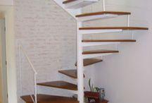escada prédio