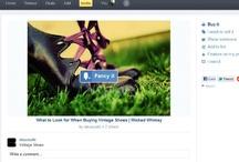 #fancy / Todo lo nuevo de #fancy....la competencia directa de #pinterest y especializada en el social commerce ¡¡¡