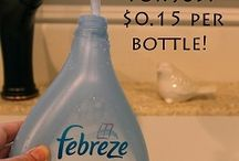 cleaning products / by Lishia Zinszer