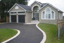 NEW HOUSE-Driveway