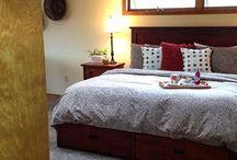 Swan River Suite / Large Master Suite at Swan Hill BnB Flathead Lake Montana