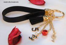 Key fob keychains,bag accesories