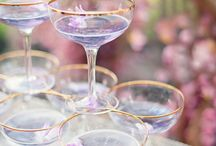 Wedding Cocktails / Fun Ideas for your wedding toast , or on arrival drinks reception.