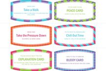 Student Wellbeing / Strategies to help students who require additional support. Incredible 5 point scale, break card ideas etc