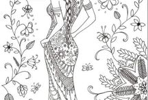 Colouring Pages We Love / Colouring sheets and pages
