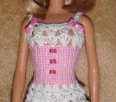 Barbie crochet lace ware