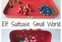 Suitcase small world