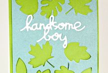 For the Boys and Men in my Life / by Scrapbook & Cards Today