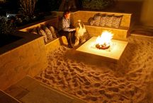 Fire pit ideas / Welcome to Dream Yard's pinterest board of fire pit pictures. If you are adding an outdoor firepit to your yard, this is a good place to start. Don't forget to check on the local building codes for your area before you get your heart set on having a back yard fire pit. Thanks for visiting us and hopefully you can check out some of our other boards.  / by dreamyard