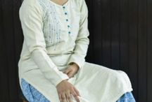 Silk kurta