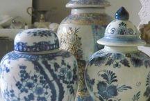 Blue china / Colour blue