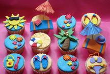 3rd bday cakes n cup cakes