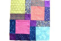 Tutoriales patchwork / Como hacer patchwork