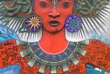 Goddess Murals