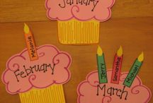 Birthday wall ideas at work