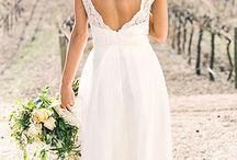 wedding dress lace straps