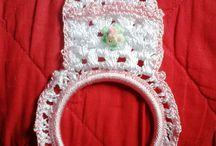 Artesanatos / Produtos para decoração e presentes em bordados e crochê.