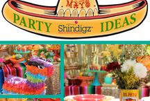 Party Ideas - Cinco de Mayo / Host the ultimate Cinco de Mayo fiesta this year! At Shindigz, we have every decoration and favor you need for the big party, from colorful piñatas to fun, inflatable maracas. Spice up the party with chili pepper decorations such as balloons, centerpieces, bracelets and more!  / by Shindigz Party Supplies