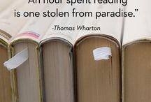 Over lezen en boeken / about reading and books