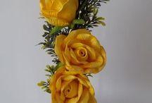 flores artesanais
