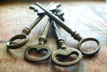 Locks, Knobs & Keys / More About Doors * Locks * Door Knobs * Keys / by Lisa ★ Berry