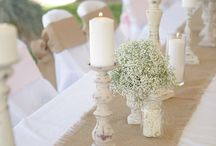 Wedding ideas - table setting