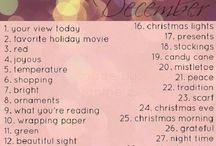 December 2016 photo challenge