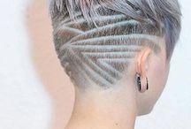 Short undercut hairstyles