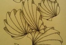 Zentangles & Doodles / I've been doing these for years and never knew that they were called Zentangles!