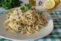 Pasta & Pesce / Raccolta di primi piatti di pesce.
