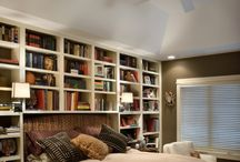 library for bedroom - βιβλιοθήκη υπνοδωματίου