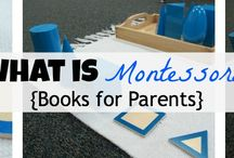 Parent Education / Recommended reading lists and videos to learn more about Maria Montessori's method of education as well as other great child raising resources.