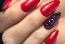 Red Nails Only