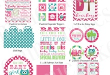 Baby Shower Inspiration / We are planning a baby shower for a very special lady expecting a beautiful little girl, getting ideas together so make the day extra special!