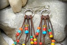 summer colors of leather jewelleries