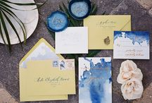 Wedding Stationery / Wedding Stationery from Invites to Save The Date to Menu Cards Inspiration