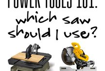 Tools and shop