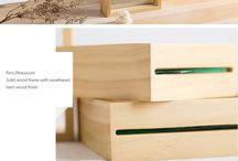 wooden staf
