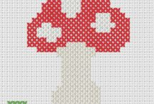 CROSS STITCH FRUIT