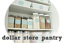 Pantry Organization Ideas / pantry, organizing, declutter, pantry ideas